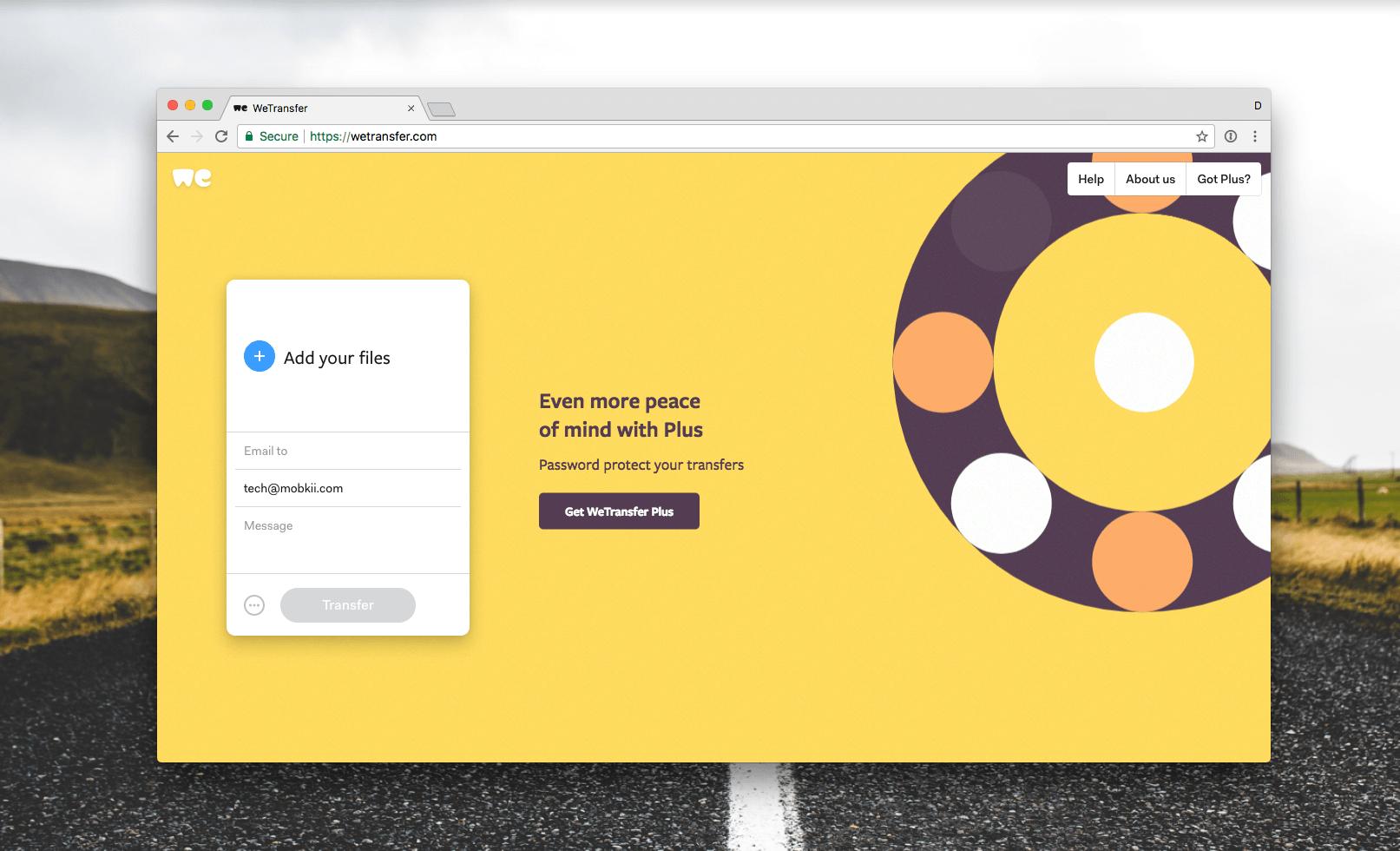 Cómo compartir archivos pesados por correo